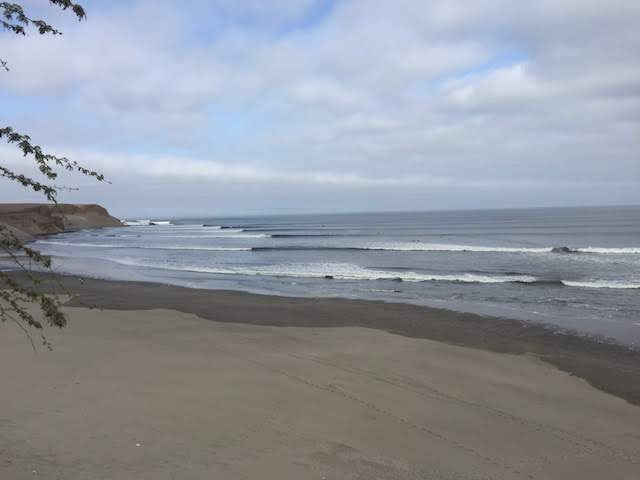 ペルー・チカマの波