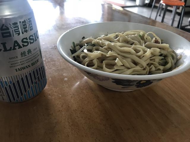 東河肉粽王での昼食