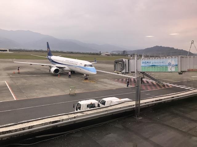 マンダリン航空の飛行機