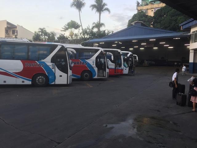 クバオのPALTASバスターミナル