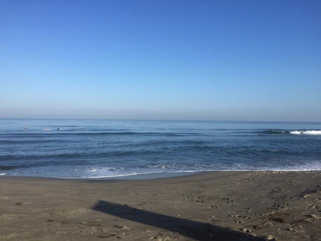 完全に外したときのSan Juanビーチ。2月なのですが。。