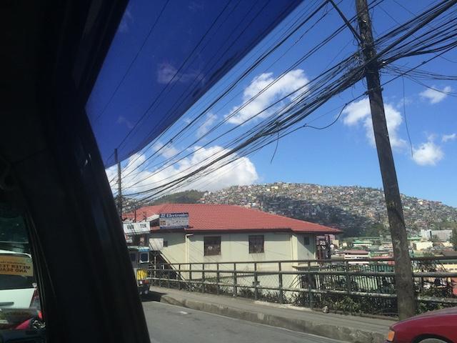 バギオ市内の景色