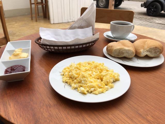 ワンチャコ、MENU LANDの朝食
