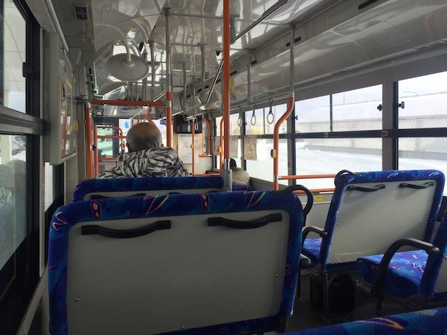 稚内空港からのバス