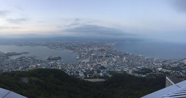 函館山ロープウェイから
