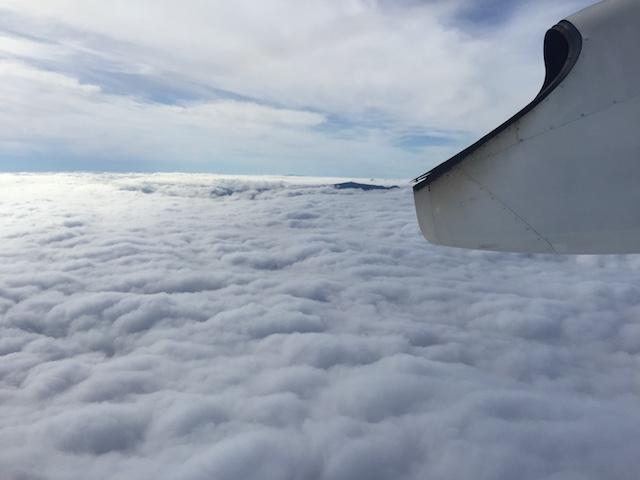 ANA4858函館上空